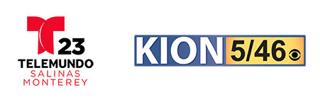 Telemundo and KION logos