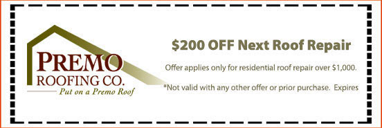 $200 off nest roof repair. * Offer applies only for residential roof repair over $1,000.
