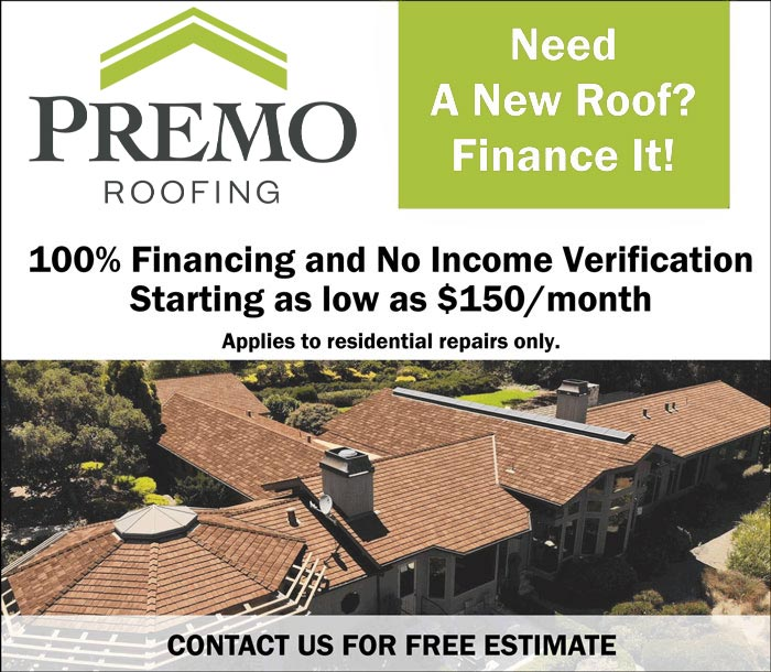 Need a new roof? Finance it. 100% financing and no income verification. Starting as low as $150/month - applies to residential repairs only.